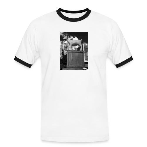Ged tee - Herre kontrast-T-shirt