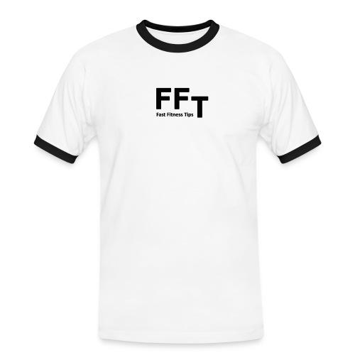 FFT simple logo letters - Men's Ringer Shirt