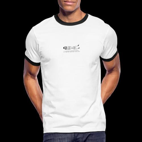 hybrid 0001 - Maglietta Contrast da uomo
