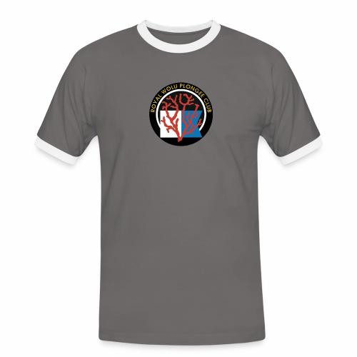 Royal Wolu Plongée Club - T-shirt contrasté Homme