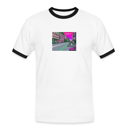 Game City 80's - Maglietta Contrast da uomo