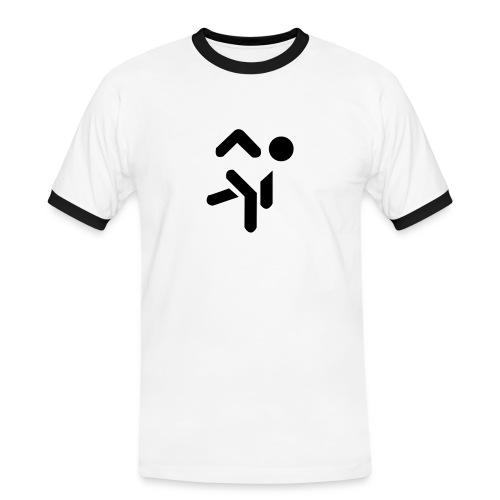 jumpstyle pop - Mannen contrastshirt