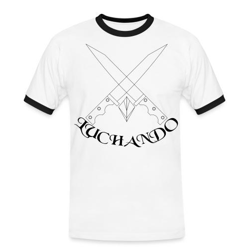 design 1 - Herre kontrast-T-shirt