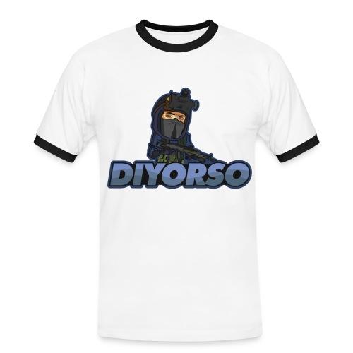 logo diyo clair png - T-shirt contrasté Homme