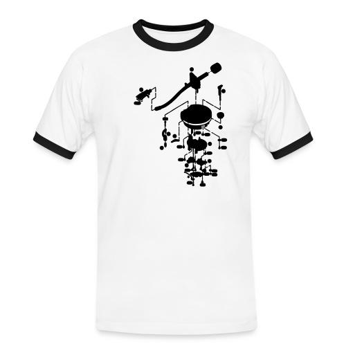 tonearm05 - Mannen contrastshirt