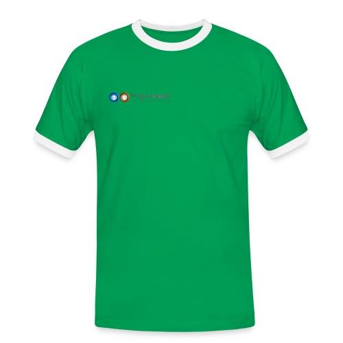 LogoFrigoriste couleur png - T-shirt contrasté Homme