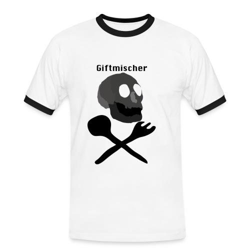 Giftmischer - Männer Kontrast-T-Shirt