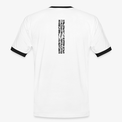 LF camo stripes - Kontrast-T-shirt herr