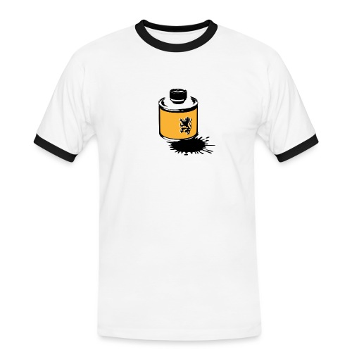 glue leuw 01 png - Männer Kontrast-T-Shirt