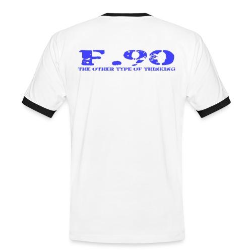 F 90 png - Männer Kontrast-T-Shirt