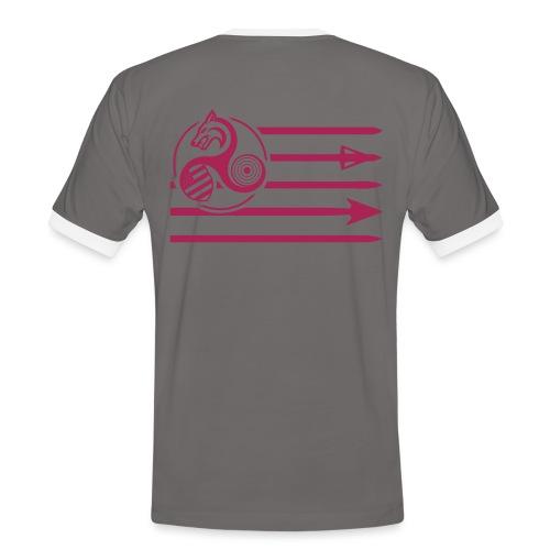gwen one - T-shirt contrasté Homme