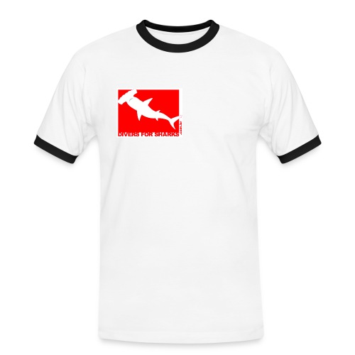 D4SBandeira jpg - Camiseta contraste hombre