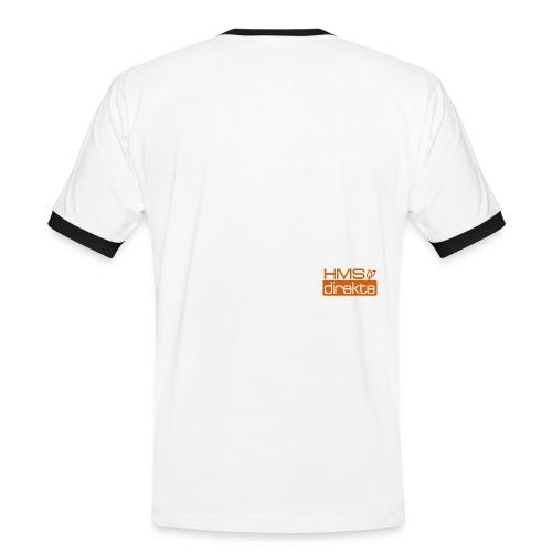 tskjorte - Kontrast-T-skjorte for menn