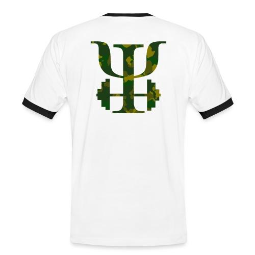 Logo Camo - Men's Ringer Shirt