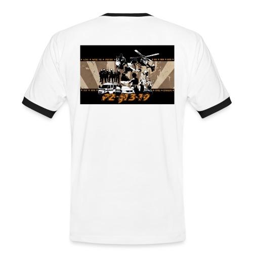 PZ-13-19-Tarantino-gelb - Männer Kontrast-T-Shirt
