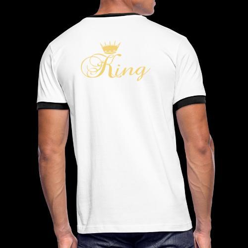 King - T-shirt contrasté Homme