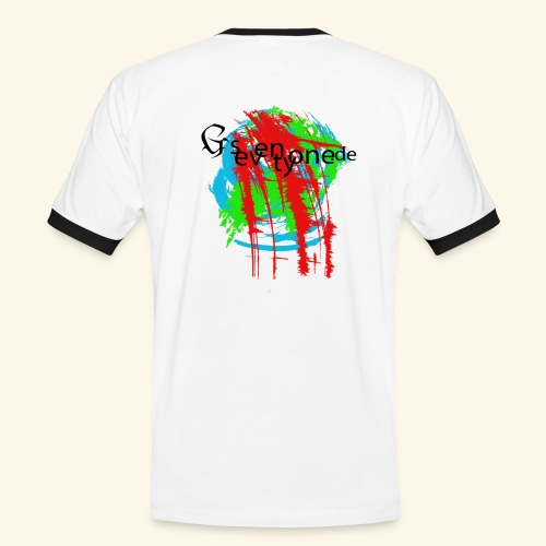 G seventy one Blood - Männer Kontrast-T-Shirt
