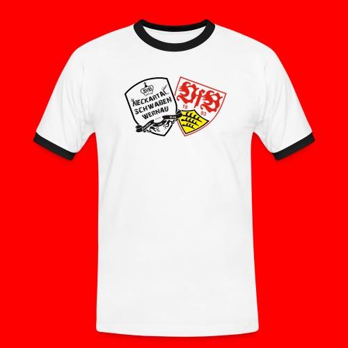NTS furchtlosundtreu weiß png - Männer Kontrast-T-Shirt