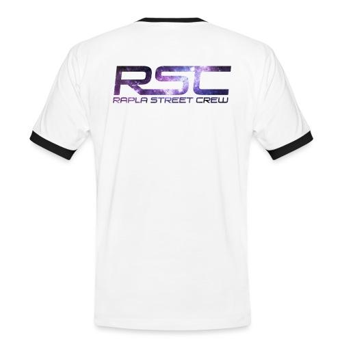 Rapla Street Crew Logo Galaxy - Men's Ringer Shirt