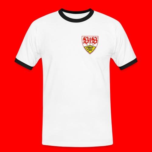 2000px-VfB_Stuttgart_1893 - Männer Kontrast-T-Shirt