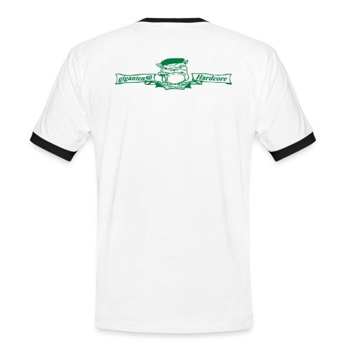 Hardcore Bulldog - Männer Kontrast-T-Shirt
