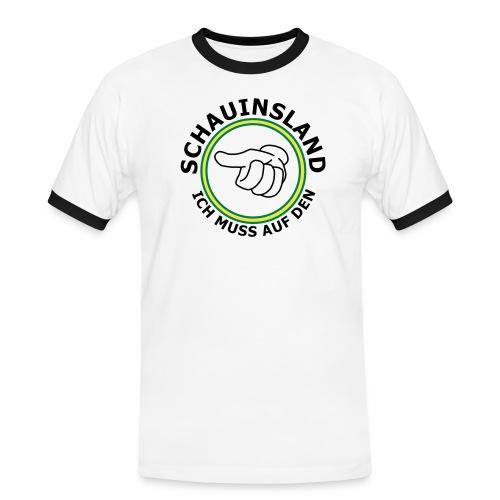 daumen2 - Männer Kontrast-T-Shirt