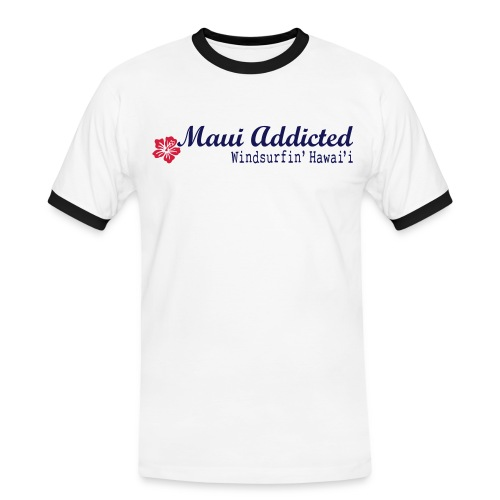 IHibiscusMaui - Men's Ringer Shirt