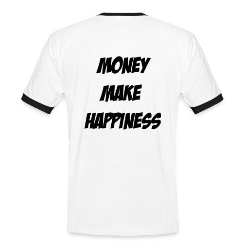 Money Make Happiness - Maglietta Contrast da uomo