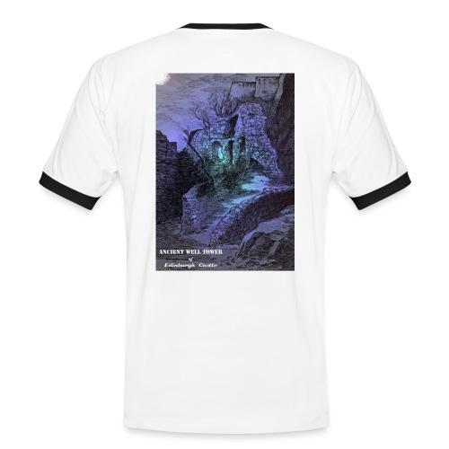 Ancient Well House of Edinburgh Castle - Men's Ringer Shirt