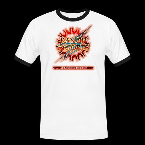 Records Logo Transparent with website hot png - Men's Ringer Shirt