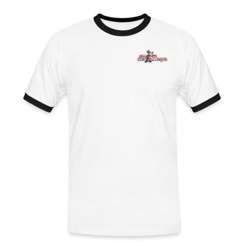 thebomps_logo_300dpi_PNG - Kontrast-T-shirt herr