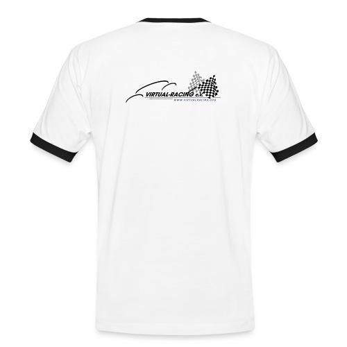 VR Logo BT png - Männer Kontrast-T-Shirt