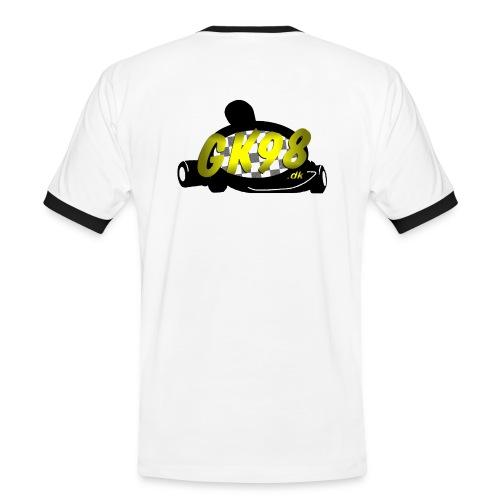 GK98dk2015 png - Herre kontrast-T-shirt
