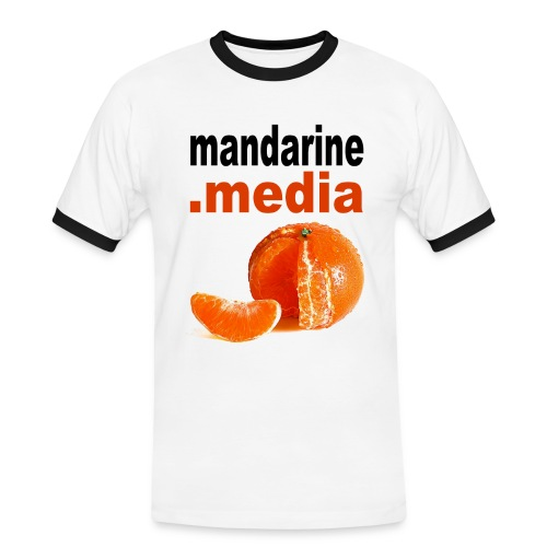 logo_A3 - T-shirt contrasté Homme