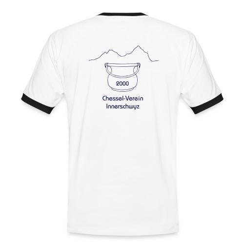 chesselverein logo3 - Männer Kontrast-T-Shirt