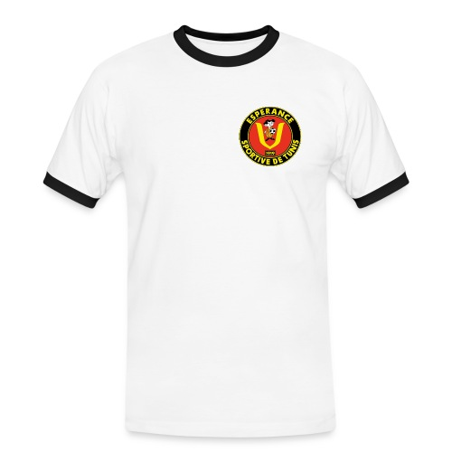 logo Espérance Sportive de Tunis 001 - T-shirt contrasté Homme