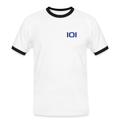 101vector - Herre kontrast-T-shirt