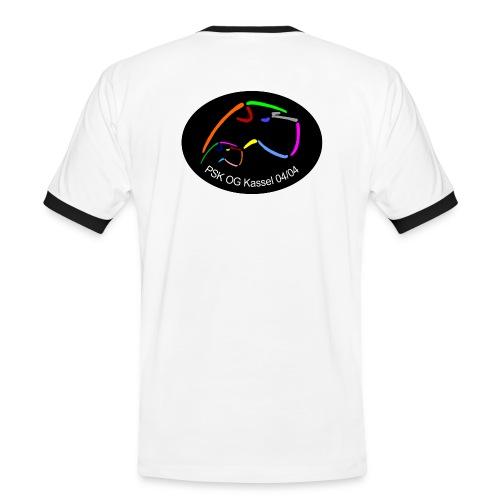 bitmap in dennis test 002 - Männer Kontrast-T-Shirt