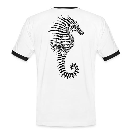 Alien Seahorse Invasion - Men's Ringer Shirt