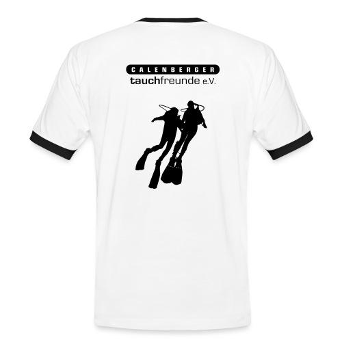 CTF Durchsichtig Vektor - Männer Kontrast-T-Shirt