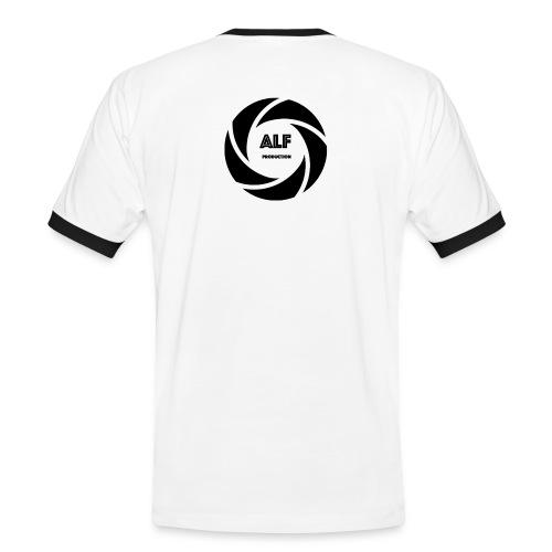 Logo Nero - Maglietta Contrast da uomo