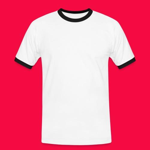 SGWappenWeiß - Männer Kontrast-T-Shirt