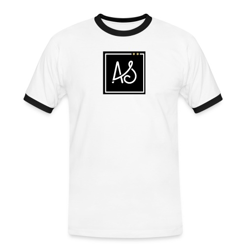 AS-fond-noir - T-shirt contrasté Homme