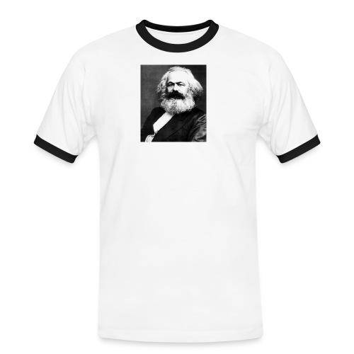 Karl Digital - Männer Kontrast-T-Shirt