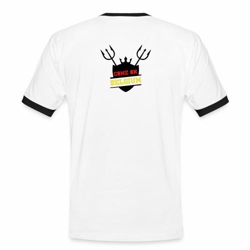 Come On Belgium - T-shirt contrasté Homme