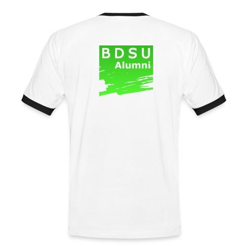 BDSU Alumni Logo - Männer Kontrast-T-Shirt