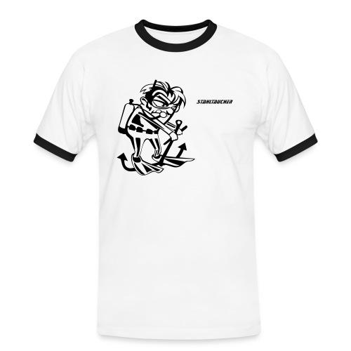 stahltaucher - Männer Kontrast-T-Shirt