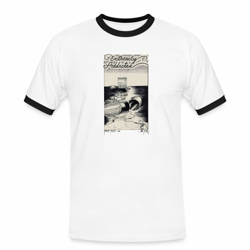 EXTREMELY ADDICTED - Men's Ringer Shirt