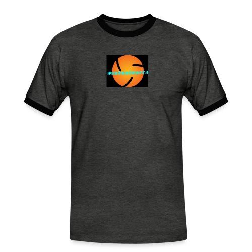 LOGO PixForCraft (Le logo de Juin 2017) - T-shirt contrasté Homme