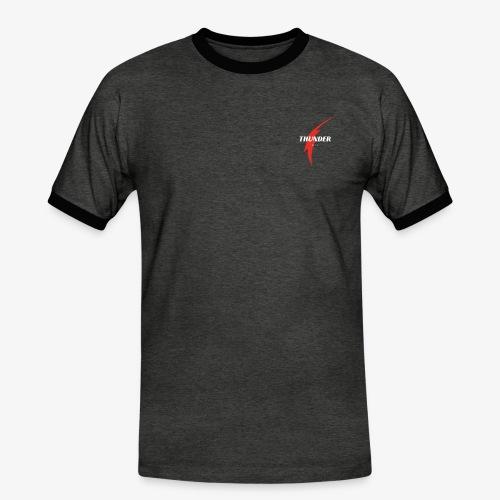 thunder war - T-shirt contrasté Homme